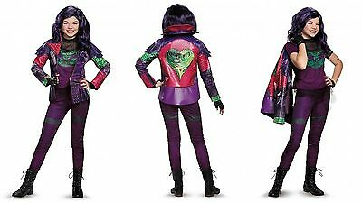 Disguise Disney Descendants Mal Prestige Mädchen Kind Halloween Kostüm 13178