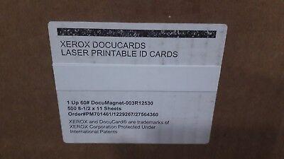Xerox 500 Sheet Media (Xerox DocuMagnetmagnetic media product- 500 1 up 8 1/2X11 sheets 14 Available )