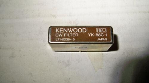 Kenwood YK-88C-1  CW Filter  solder type
