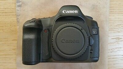 Canon EOS 5D Mk1 Mark I Classic 12.8MP Camera Shutter count: 9500 Mint