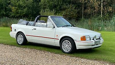 Ford Escort 1.6 XR3i Convertible- immaculate-Low mileage .