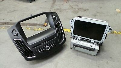 Ford focus SYNC 2 radio cd player bm5t-18b955-fe DM5T-14F239-AP sat nav LH 15-17 (Ford Cd-player)