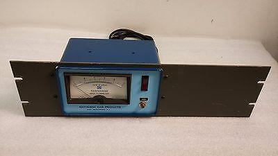 Matheson 8116-0211 Mass Flow Meter Argon Gas.