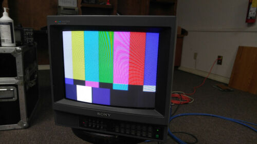 Sony PVM-1342Q Professional Video Monitor with Shipping Case