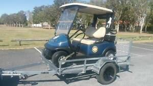 GOLF BUGGY AND BRAND NEW TRAILER PACKAGE Helensvale Gold Coast North Preview