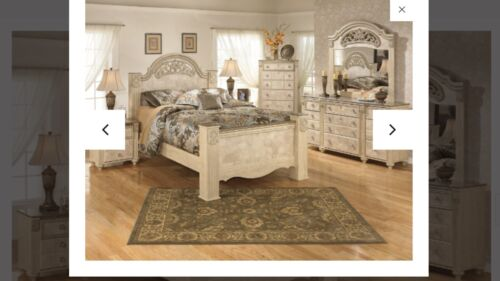 Saveaha Signature Design By Ashley Queen Bedroom Furniture Set