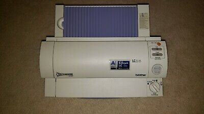 Brother Lx-900 Cool Laminator A6-a4 4.8-9.0 Laminating Machine W Power Adapter