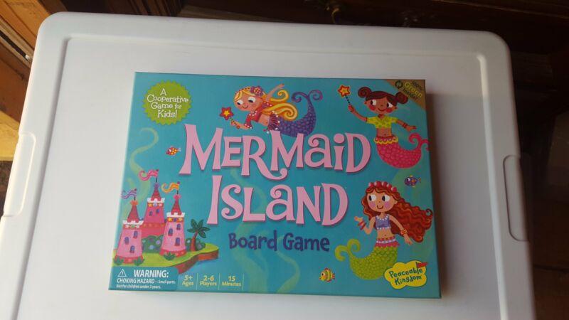 Mermaid Island board game by Peaceable Kingdom