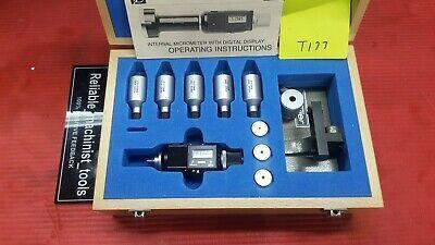 Bowers Sylvac Split Bore Hole Inside Micrometer .04 To .08 Model 54 333 002
