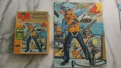 WHITMAN - G.I.JOE (Navy) - Rare Vintage 1965 Jigsaw Puzzle - Complete with Box