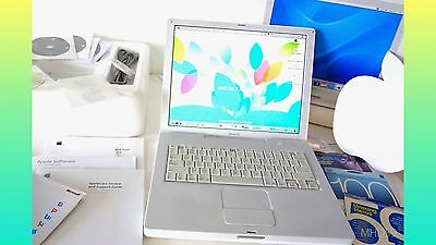 "Apple iBook G4 2005 14"" 1.33GHz ""BOXED"" 60GB HD 768 RAM + Extras . Working WELL for sale  Shipping to Canada"