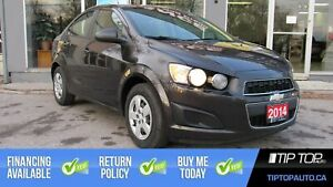 2014 Chevrolet Sonic LS ** Manual, Brand New Tires, Low Km, Affo