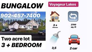 3 bedroom NEW House on 2 acre lots