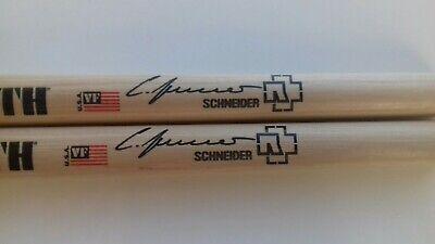 "RAMMSTEIN Drumsticks ""Official Christoph Schneider"" Signature Sticks"