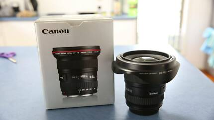 Canon EF16-35mm Lens f2.8 *Excellent condition*