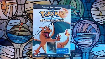 Pokemon Adventures in Unova Walmart Exclusive DVD Set Eps. 1-25 Signed - Pokemon In Walmart