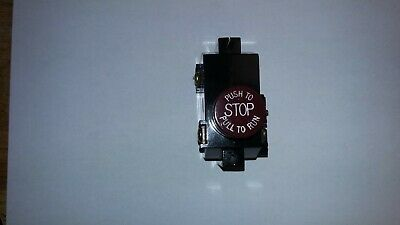 New Otis Elevator Push Pull Emergency Stop Switch Pn 7014a9