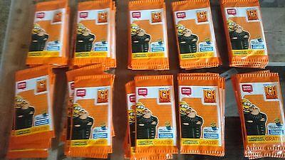 REWE - 50 Tüten - Sammelkarten - ich einfach unverbesserlich 3 - minion OVP