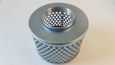 3 Steel Round Hole Strainer Basket Trash Pump Suction Hose