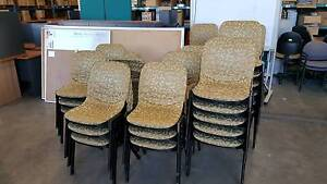RECEPTION CHAIRS - office seats work study student Murarrie Brisbane South East Preview