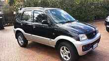 2003 Daihatsu Terios black manual Lindisfarne Clarence Area Preview