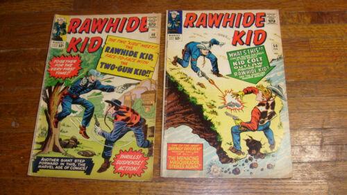 RAWHIDE KID #40 & #50, BOTH CROSS OVERS, KID COLT & TWO-GUN KID