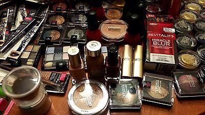 PrimeTime Makeup Mix Lot (100)pcs - NYX, Revlon, L'Oreal, CoverGirl, Maybelline