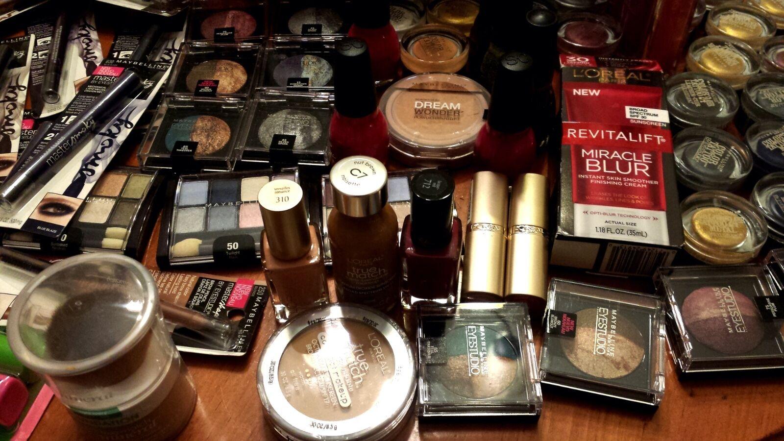 Купить PrimeTime Makeup Lot (35) pcs. - Milani, Revlon, L'Oreal, CoverGirl, NYX more