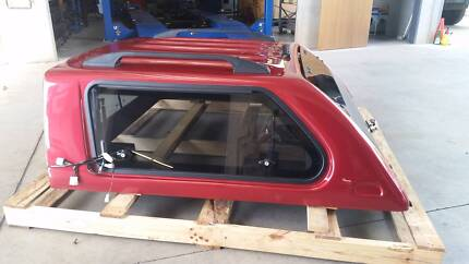 Ironman ABS Plastic Canopy Nissan D22 - Colour Coded Mars Red