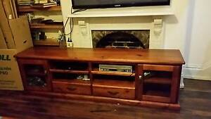 Solid wooden Tv Cabinet Newcastle East Newcastle Area Preview