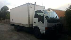 Very good Isuzu Truck NPR 300 with left side tail gate loader Hampton Park Casey Area Preview