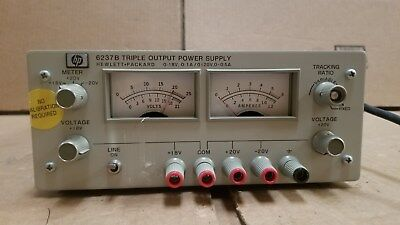 Hp 6237b Triple Output Power Supply Good