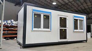 Container Bürocontainer Fabrikneu 6,00 x 2,45 x 2,60  Standard SOFORT verfügbar