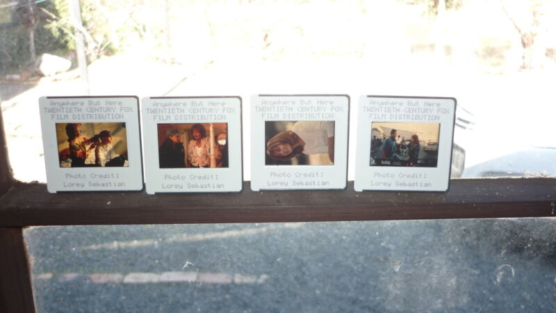 COLLECTION OF 4 ORIGINAL MOVIE FILM CELLS, ANYWHERE BUT HERE NATALIE PORTMAN 2