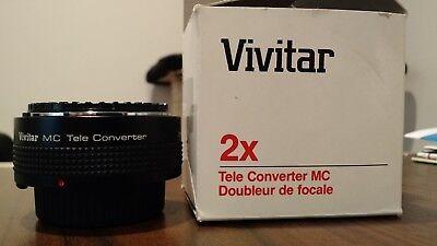 Vivitar MC 2x Tele-Converter MC
