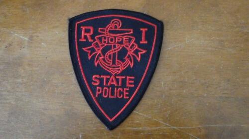 RHODE ISLAND STATE POLICE ANIVERSARY  RARE  OBSOLETE  PATCH BX E #15