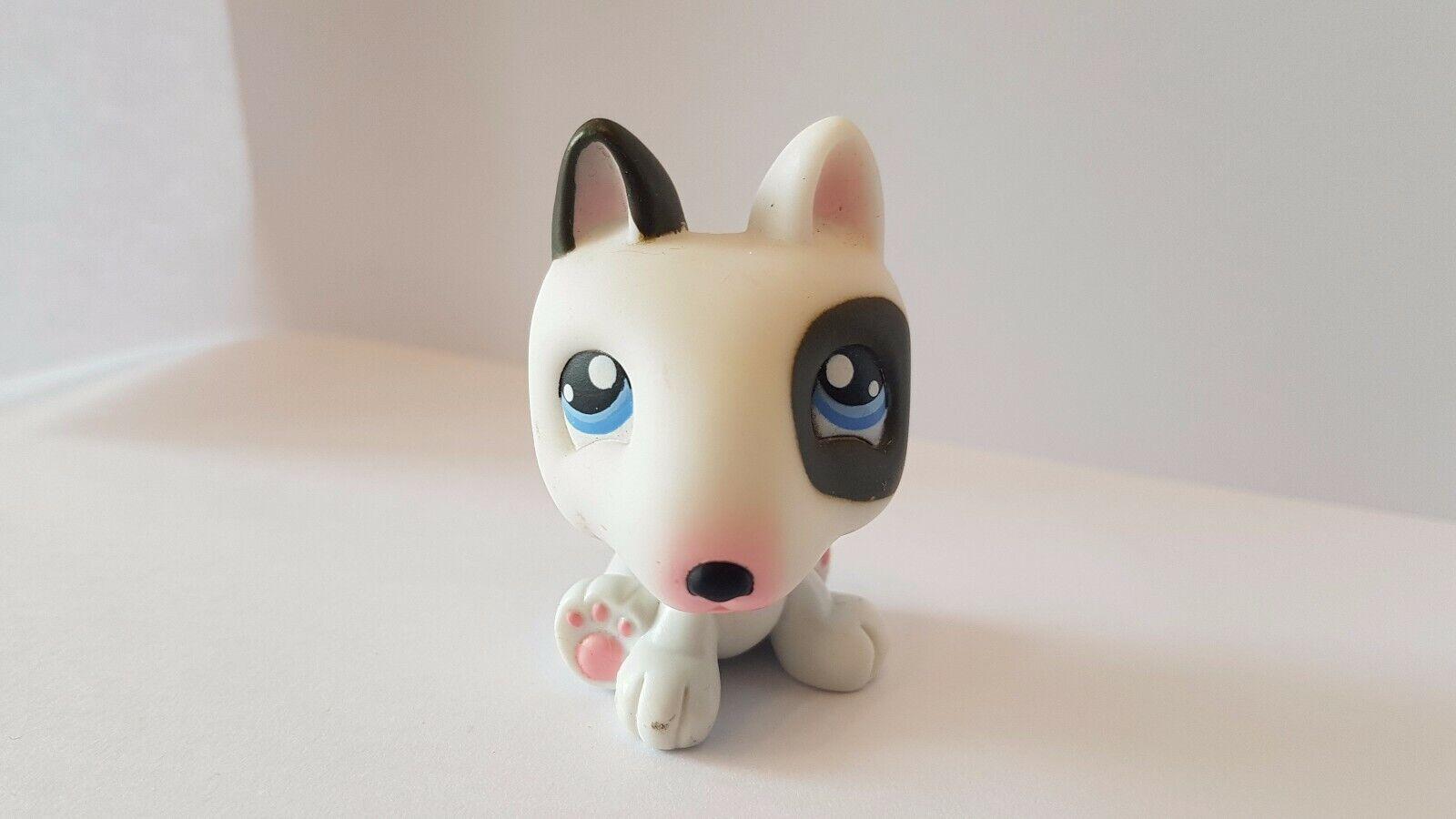 Figurine petshop  original  chien dog bull terrier diary 1  pet shop lps
