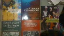 History and Geography High School Textbooks for sale! Turramurra Ku-ring-gai Area Preview