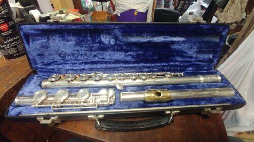 Gemeinhardt solid silver flute K. G, Special 82185