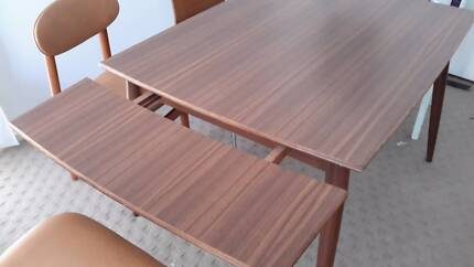 1970s Danish style extension dining table Spence Belconnen Area Preview