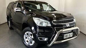 2016 Holden Colorado RG MY16 LTZ Crew Cab Black 6 Speed Sports Automatic Utility Elizabeth Playford Area Preview