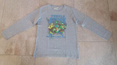 Ninja Turtles Jungen Sweatshirt Pullover Gr.164 in grau - Ninja Turtle Sweatshirt