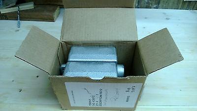 Cooper Crouse-hinds Fsc12 - 12 2 Gang Conduit Condulet Boxes - Nib X2
