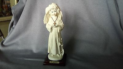 Giuseppe Armani NUN Pray Book/Cross/Flower/young girl figurine ITALY 1986