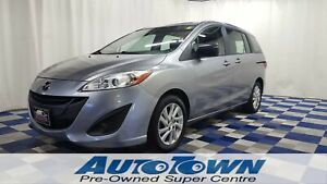 2012 Mazda Mazda5 GS/ACCIDENT FREE!!