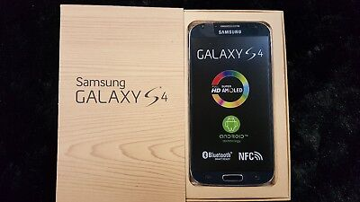 Inbox New Samsung Galaxy S4 SGH-I337 16GB Black Mist (AT&T) GSM Global Unlocked