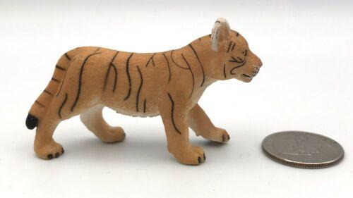 Mojo ORANGE TIGER CUB Walking Wildlife Figure 2010