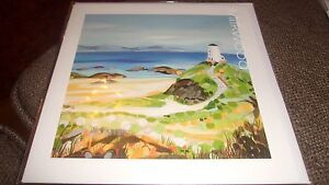 OLD LIGHTHOUSE - JANET BELL MILKWOOD NEW BEACH GREETING CARD BLANK OCCASIONS
