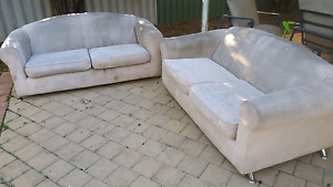 Free x2 2 seater couches Clarkson Wanneroo Area Preview