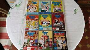Family Guy DVD Bundle Seasons 1 - 8 plus Stewie Griffin Movie Richmond West Torrens Area Preview